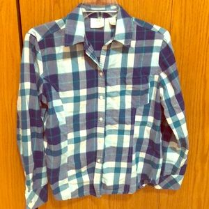 Riders by Lee Plaid Button Up